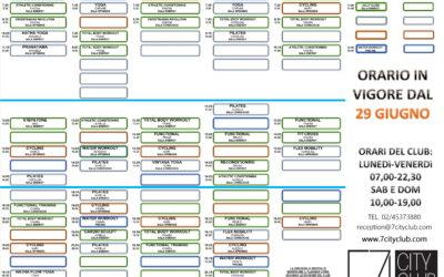 Planning corsi dal 29 giugno 2020